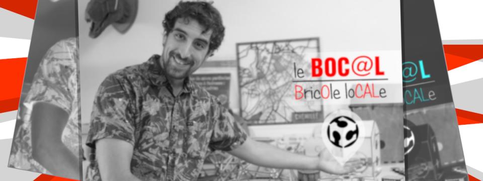 Présentation du nouvel animateur numérique présent du Boc@l