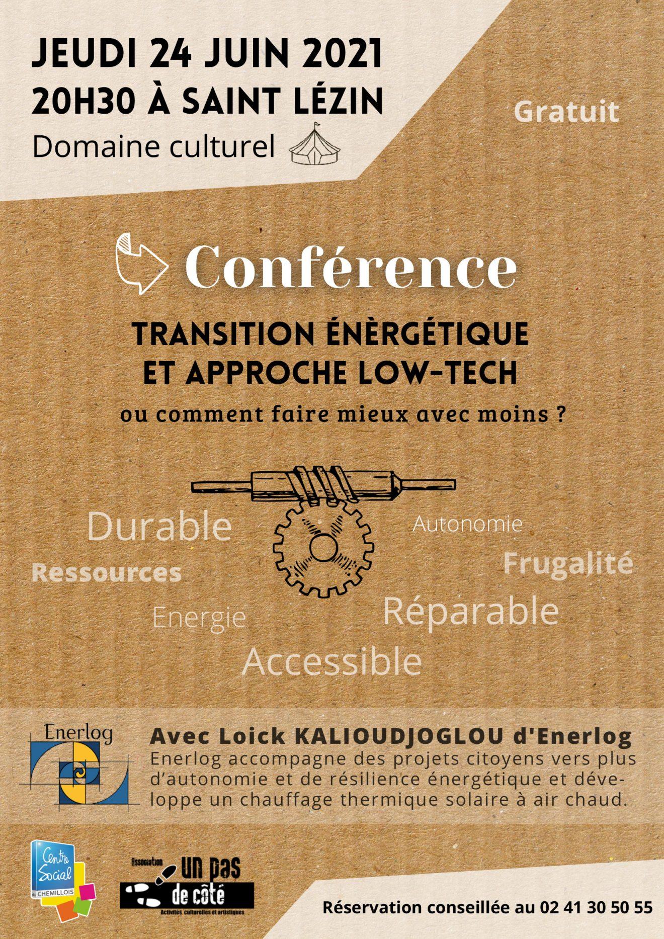 Conférence Jeudi 24 Juin